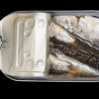 Can of sardines — Stock Photo