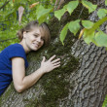 giovane ragazza in natura — Foto Stock