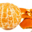 Orange and peel — Stock Photo
