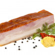 Stock Photo: Pork bacon