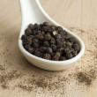 Black peppercorn  — Stock Photo #50632091