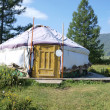 Altai yurt — Stock Photo