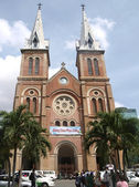 Notre Dame cathedral in Saigon — Stock Photo