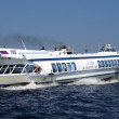 Famous water transport- hydrofoil — Stock Photo