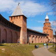 Old towers of Novgorod Kremlin — Stock Photo
