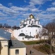 St. Sofia cathedral in Novgorod — Stock Photo