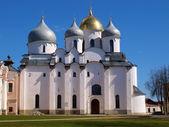 Binnen het kremlin van novgorod — Stockfoto