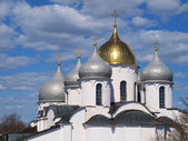 Cupola of the cathedral — Stock Photo