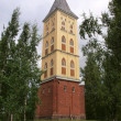The Tower of the Lappee Church — Stock Photo