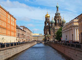 Spas-na-krovi cathedral in Saint-Petersburg — Stock Photo