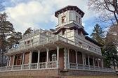 Luxury vintage cottage — Стоковое фото