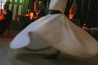 Whirling Dervishes in Istanbul Turkey — Stock Video