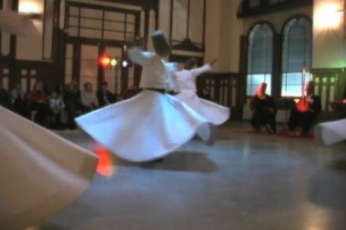 Whirling Dervishes — Stock Video