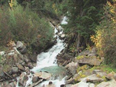 Cascada de largo — Vídeo de Stock