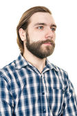 Portrait of the man with a beard — Stock Photo