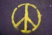 Segno di pace — Foto Stock