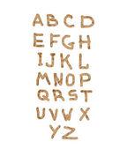 Alphabet — Stockfoto