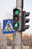 Traffic lights — Stock Photo