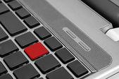 Laptop toetsenbord — Stockfoto