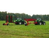 Dos tractores — Foto de Stock