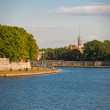 Bank of the river Vistula. — Stock Photo