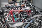 Different bikes — Stock Photo