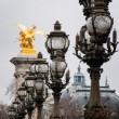 Stock Photo: The Pont Alexandre III
