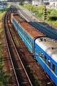 Tren de pasajeros — Foto de Stock
