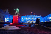 President's Palace in Warsaw — Foto de Stock