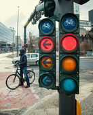 Traffic light — Stock fotografie