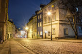 Old Town at night. — Stock Photo