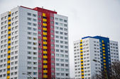Residential buildings — Stockfoto