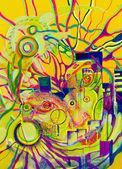 Abstract drawing — Stock Photo