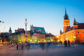 Castle Square, Warsaw — Stock Photo