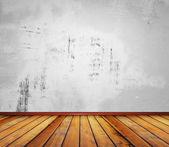 白いコンクリートの壁 — ストック写真