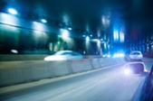 Night road — Stock Photo