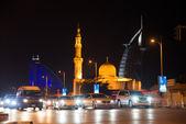 Abu Dhabi road — Stock Photo