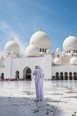 Moschea di sheikh zayed — Foto Stock