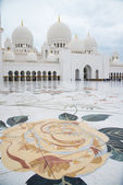 Sheikh Zayed Mosque — Foto Stock