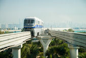 Monorail station — Stock Photo