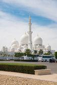 Moschea di sheikh zayed ad abu dhabi — Foto Stock