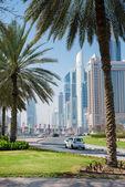 Dubai'deki gökdelenler — Stok fotoğraf
