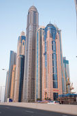 Skyscrapers in Dubai Marina — Stock Photo