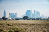 Skyscrapers in Dubai — Stock Photo