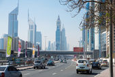 Skyscrapers in Dubai — Stockfoto