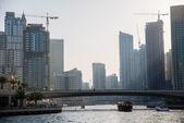 Skyscrapers in Dubai Marina — Stock Photo