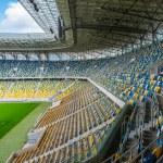 Empty football stadium — Stock Photo #50005291