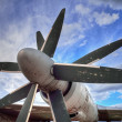 Old propeller plane — Stock Photo #50006845