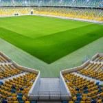 Empty football stadium — Stock Photo #50009201