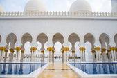 Sheikh zayed moskee — Stockfoto